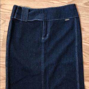 Guess denim long skirt